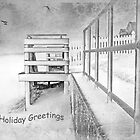 Holiday Greetings ~ Greeting Card by Susan Werby