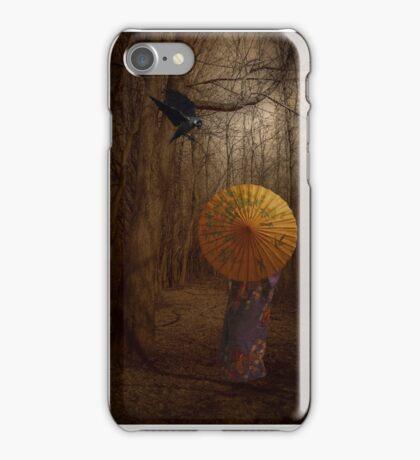 Lady Autumn... iPhone Case/Skin