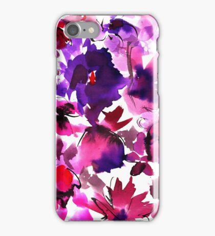 Sara Floral Pink iPhone Case/Skin