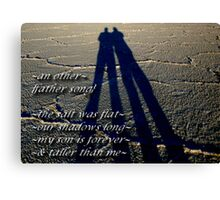 ~an other~ (snippet) Canvas Print
