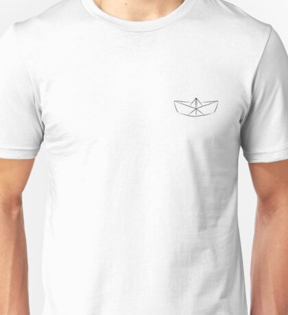 Paper ship sketch Unisex T-Shirt
