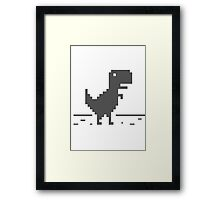 Slow Internet Framed Print