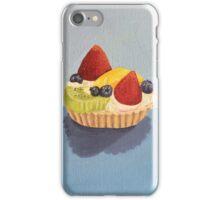 Fruit Tart Painting iPhone Case/Skin