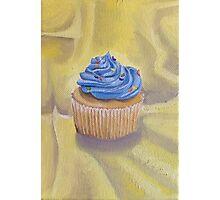 Vanilla Cupcake with Sprinkles Painting Photographic Print