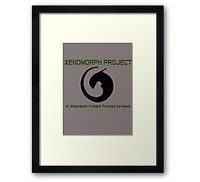 Xenomorph project Framed Print
