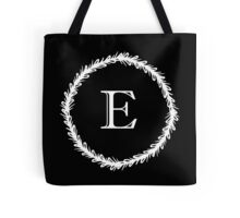 Monochrome Monogram E Tote Bag