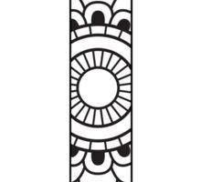 Phi-mandala design Sticker