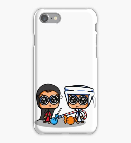 Kids and candy  iPhone Case/Skin