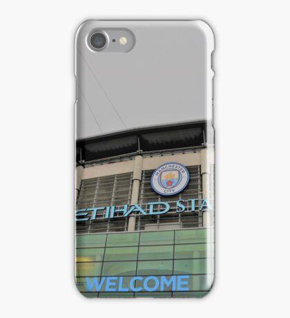 Manchester City, Etihad Stadium iPhone Case/Skin