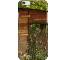 Pig shooters hide, Nature Reserve Konigswinter, Germany iPhone Case/Skin