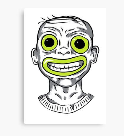 Toxic Child Canvas Print