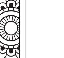 Gamma-mandala pattern Sticker