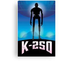 K-2SO vs Iron Giant Mashup Tee Canvas Print