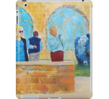 Belted Galloway Cows at Exeter Cathedral iPad Case/Skin