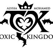 Toxic Kingdom Logo by davidjonesart