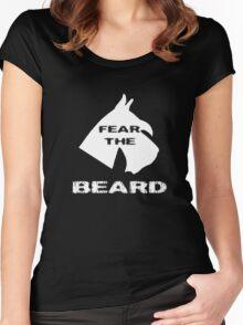 Fear The Beard Schnauzer Women's Fitted Scoop T-Shirt