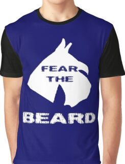 Fear The Beard Schnauzer Graphic T-Shirt