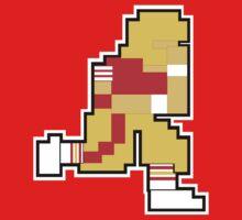 Nintendo Tecmo Bowl San Fransisco 49ers Joe Montana One Piece - Short Sleeve