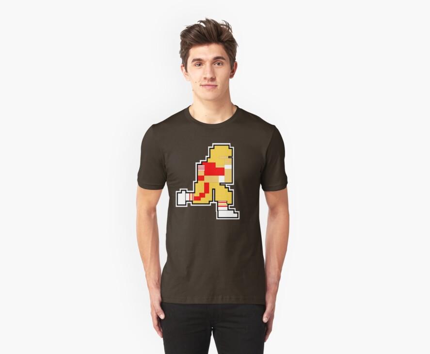Nintendo Tecmo Bowl San Fransisco 49ers Joe Montana by jackandcharlie