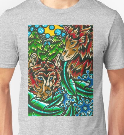 wolfs of winter Unisex T-Shirt
