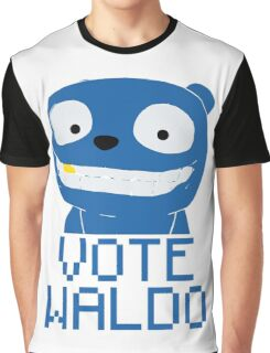 Vote Waldo – Black Mirror Graphic T-Shirt