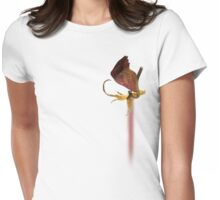 My time is already running late Womens Fitted T-Shirt