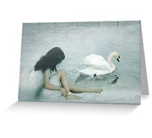 Captive Angel Greeting Card