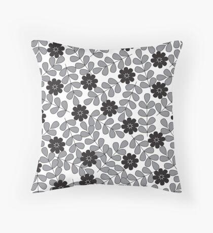 flower 4 Throw Pillow