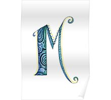 The Letter M Poster
