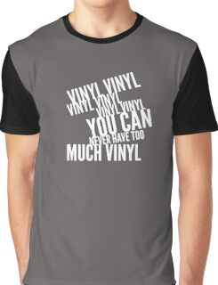 Too many records 2 Graphic T-Shirt
