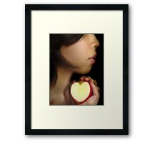 A Piece of Me Framed Print