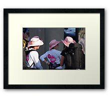 Breast cancer, everyone deserves a lifetime < Framed Print