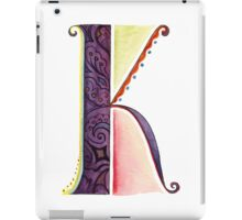 The Letter K iPad Case/Skin
