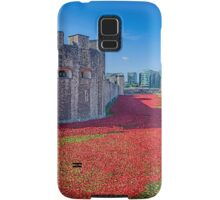Poppies in the Moat 2 Samsung Galaxy Case/Skin