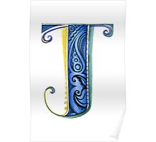 The Letter J Poster