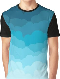 Gradient Clouds Graphic T-Shirt