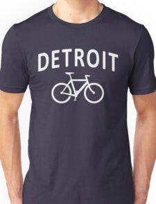 I Bike Detroit - Fixie Bike Design Unisex T-Shirt
