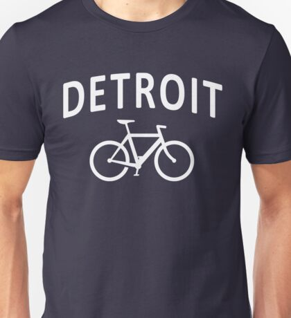 I Bike Detroit - Fixie Bike Design Unisex T-Shirt