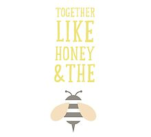 Together like honey and the bee by annamoreganna