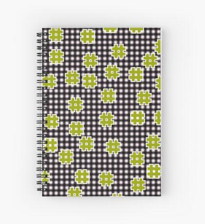 Octothorpes Spiral Notebook