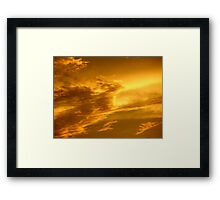 Phoenix Cloud Framed Print