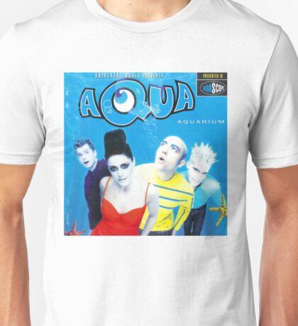 """Aqua """"Aquarium"""" Album Cover Unisex T-Shirt"""