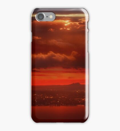 Why Sunsets Are Red iPhone Case/Skin