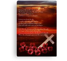 Why Sunsets Are Red Canvas Print