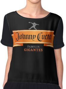 Johnny Cuervo Chiffon Top