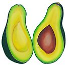 Avocado  by marlene veronique holdsworth