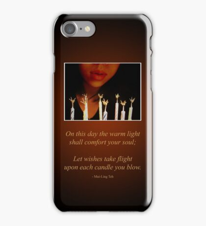 Birthday Wish iPhone Case/Skin