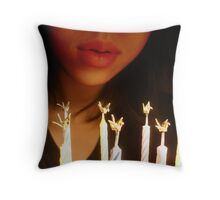 Birthday Wish Throw Pillow