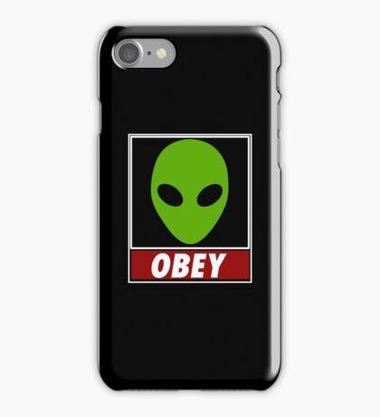 Alien Obey iPhone Case/Skin