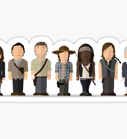 Walking Dead - Season 6 Main Sticker
